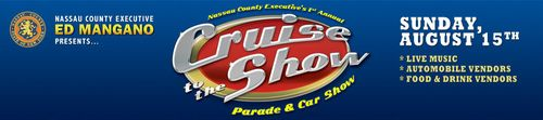 "Nassau County ""Cruise to the Show"" Car Show"