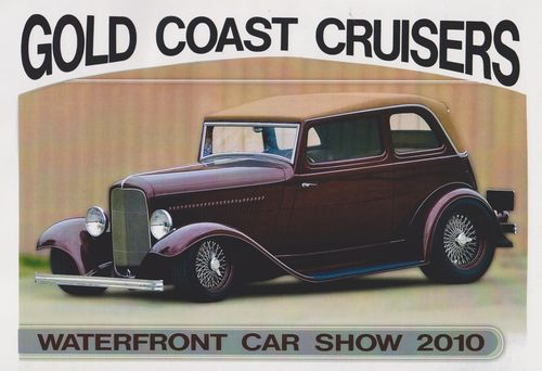 Gold Coast Cruisers Car Show 2010 Poster