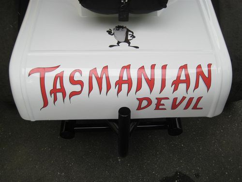 Tasmanian Devil Character applied