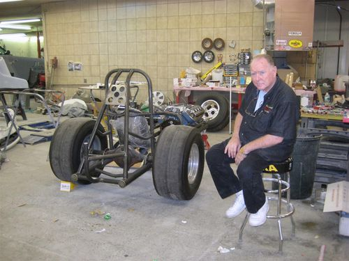 Billy with stripped down chassis