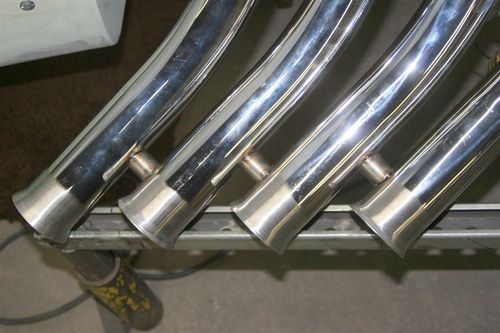 Header spacer tubing