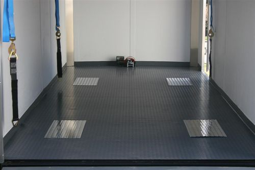 New trailer flooring
