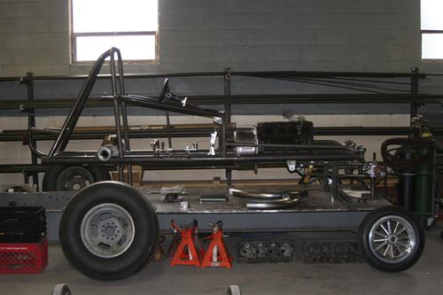 Chassis Research R-16 with lift kit?