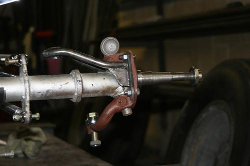 Steering arm progress
